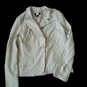 Studio 1940 m cream blazer